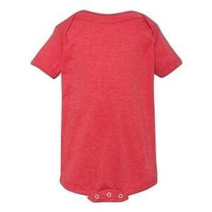 Infant Vintage Fine Jersey Bodysuit - Vintage Red - 18M