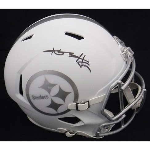 bb46ccf7830 Shop Antonio Brown Autographed Pittsburgh Steelers Full size Ice Replica  Helmet JSA - Free Shipping Today - Overstock - 16798001