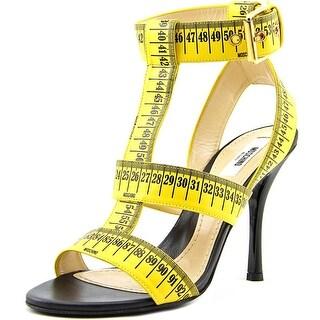 Moschino Taglia Women Open Toe Leather Sandals
