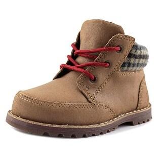 Ugg Australia Orin Toddler Round Toe Leather Tan Boot