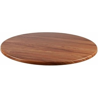 Source Contract 42 in. Duratop Round Table Top, Teak