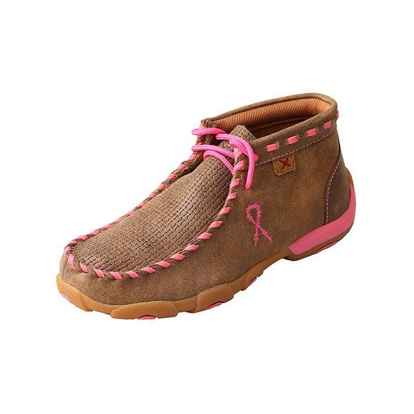 Twisted X Western Shoes Girls Kids Tough Mocs Casual Bomber