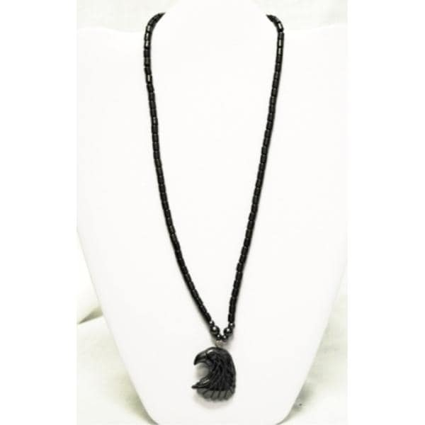 """Ddi Magnetic Hematite Necklaces 17-18"""" Eagle Pendant (pack Of 60)"""