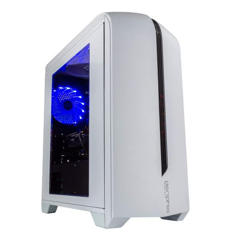 Periphio Gaming PC Desktop Computer AMD Radeon RX570 8GB RAM 120GB SSD 500GB HDD