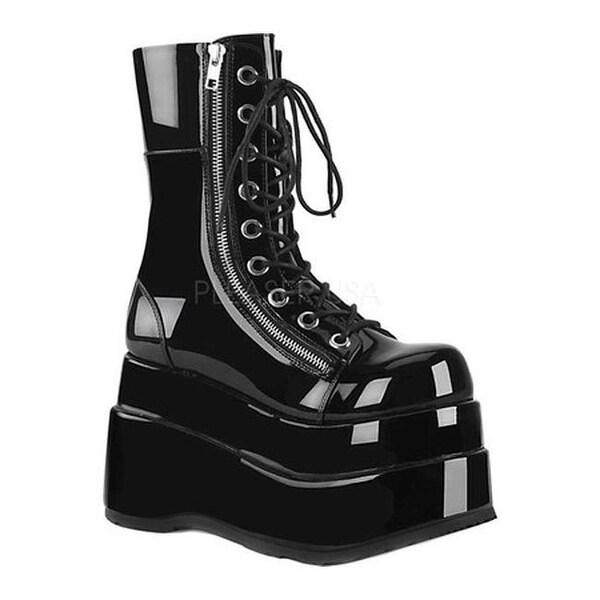 8c12bec9c Shop Demonia Women's Bear 265 Mid-Calf Platform Boot Black Patent - Free  Shipping Today - Overstock - 25577894