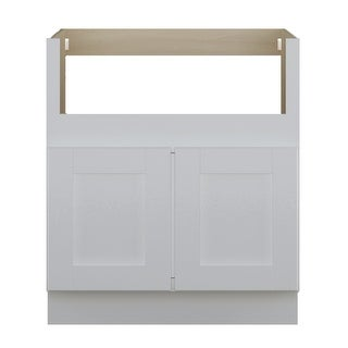 "Link to Sunny Wood SHB30FS-A Shaker Hill 30"" Wide x 34-1/2"" High Double Door - Designer White Similar Items in Kitchen"