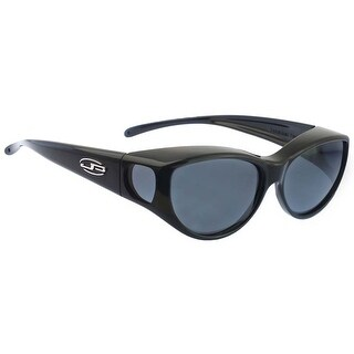 Jonathan Paul Fitovers Medium Ikara Midnight Oil Polarized Grey Sunglasses