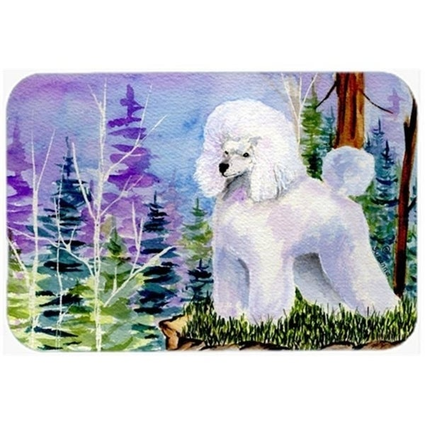 Carolines Treasures SS8639CMT 20 x 30 in. Poodle Kitchen Or Bath Mat