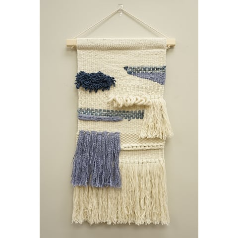 Cotton Wall Hanging Macrame Tapestry - Exact Size