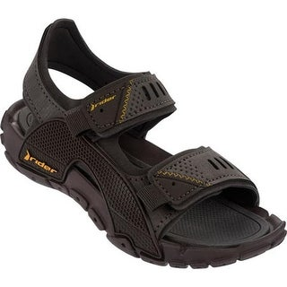 Rider Boys' Tender VIII Active Sandal Brown/Brown