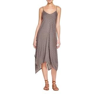 Splendid Womens Casual Dress Heathered Striped