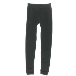 Connection 18 Womens Pull On Wide Waistband Long Leggings - S/M