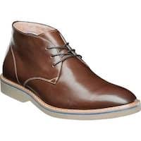 Florsheim Men's Union Plain Toe Chukka Boot Chocolate Leather