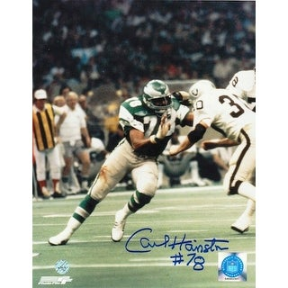 Autographed Carl Hairston Philadelphia Eagles 8x10 Photo