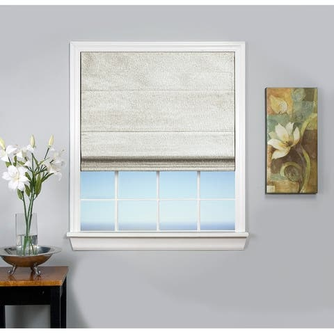 Monet Cordless Thermal Insulated, Room Darkening, Cordless Roman Shade