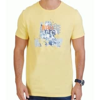 Nautica NEW Yellow Mens Large L Abstract Graphic-Print Crewneck T-Shirt|https://ak1.ostkcdn.com/images/products/is/images/direct/9bb8dc24c27fc1d3dc038ec17eb05d953f99887b/Nautica-NEW-Yellow-Mens-Large-L-Abstract-Graphic-Print-Crewneck-T-Shirt.jpg?impolicy=medium