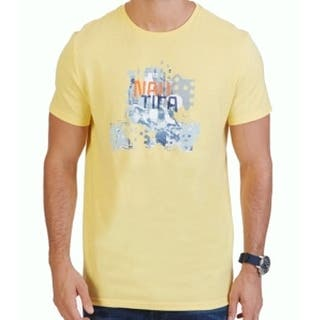 Nautica NEW Yellow Mens Size Large L Abstract Logo Graphic Tee T-Shirt|https://ak1.ostkcdn.com/images/products/is/images/direct/9bb8dc24c27fc1d3dc038ec17eb05d953f99887b/Nautica-NEW-Yellow-Mens-Size-Large-L-Abstract-Logo-Graphic-Tee-T-Shirt.jpg?impolicy=medium