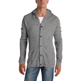 Polo Ralph Lauren Mens Cardigan Sweater Thermal Vintage - XxL