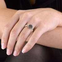 Prism Jewel 0.34Ct Brown Natural Color Diamond Cluster Engagement Ring