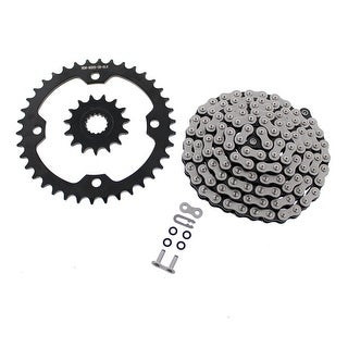 2010-2013 Yamaha Raptor 700 YFM700 CZ ATV X Ring Chain and Black Sprocket 15/38