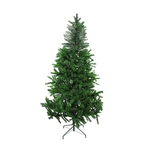7.5' Two-Tone Balsam Fir Artificial Christmas Tree - Unlit - green
