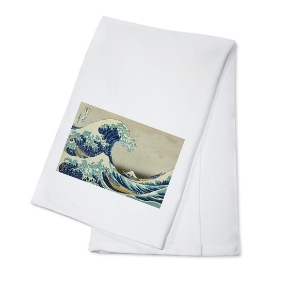 Great Wave off Kanagawa (Hokusai) - Masterpiece (100% Cotton Towel Absorbent)