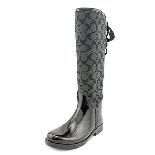 Coach Tristee Round Toe Synthetic Rain Boot