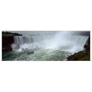 Poster Print entitled Horseshoe Falls Niagara Falls - Multi-color