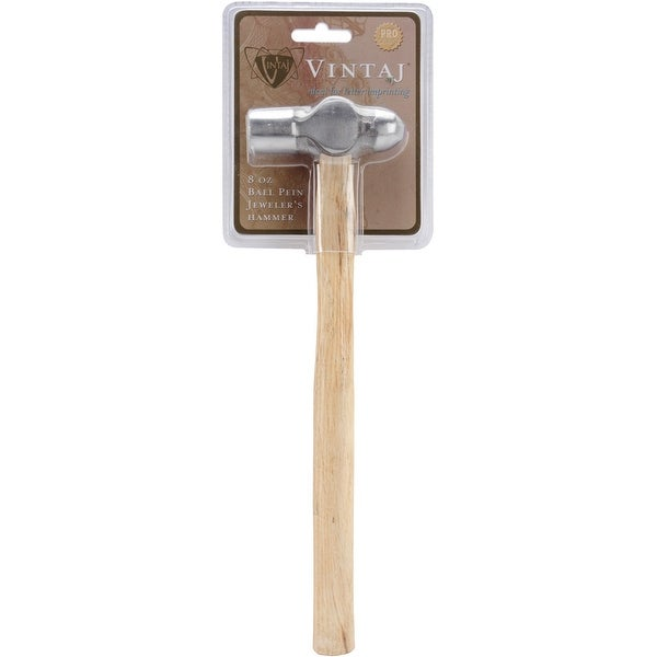 Ball Pein Jeweler's Hammer 8oz-11""