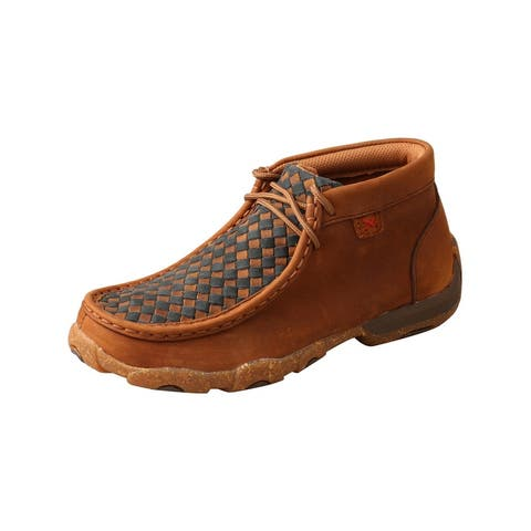 Twisted X Casual Shoes Kids Chukka Leather Saddle Midnight