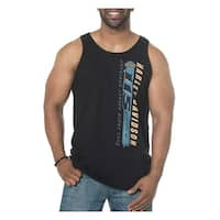 Harley-Davidson Men's 115th Anniversary Testimonial Sleeveless Muscle Tee, Black