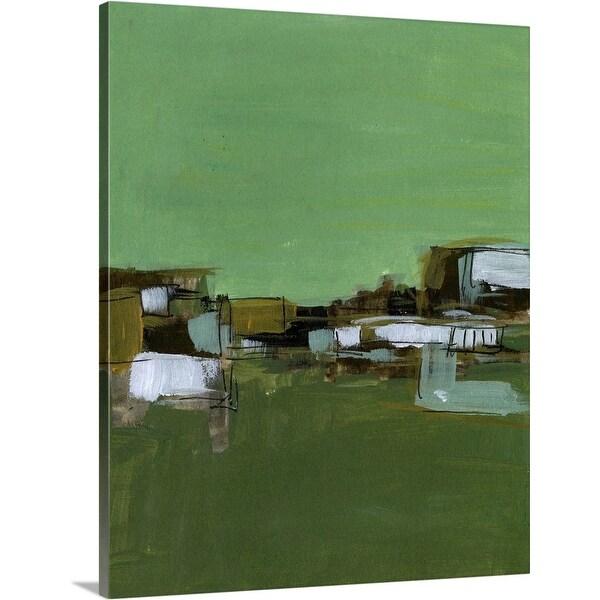 """Abstract Village I"" Canvas Wall Art"