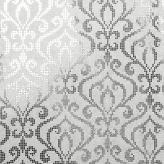 Brewster 2542-20754 Venus Silver Foil Mini Damask Wallpaper