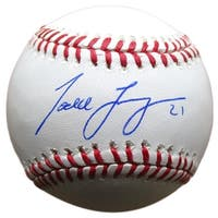 Todd Frazier Signed New York Mets Official MLB Baseball Beckett BAS