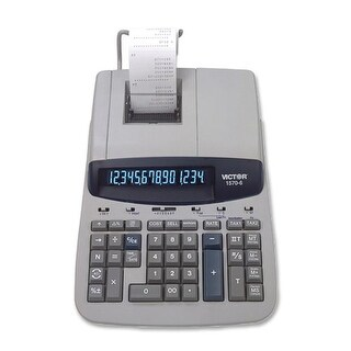 """Victor Two-Color Ribbon Printing Calculator, Black-Red Print Two-Color Ribbon Printing Calculator, Black/Red Print"""