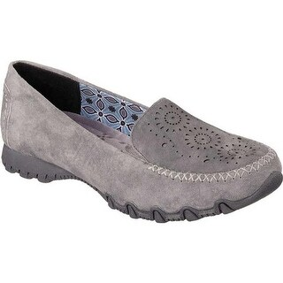 Skechers Women's Relaxed Fit Bikers Traffic Loafer Charcoal