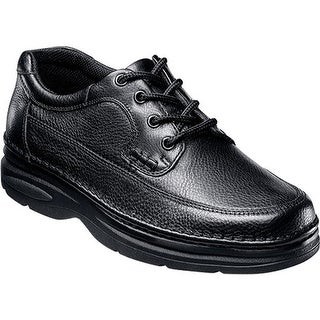 Nunn Bush Men's Cameron 83890 Moc Toe Oxford Comfort Gel Black Tumble