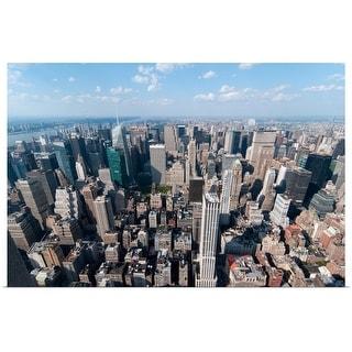 """New York City Skyline"" Poster Print"