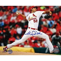 Michael Wacha signed St Louis Cardinals 8x10 Photo white jersey