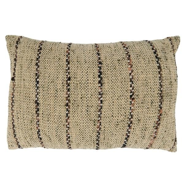 Thin Stripe Design Throw Pillow. Opens flyout.