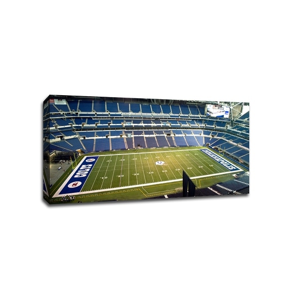 Indianapolis - NFL - 40x22 Gallery Wrapped Canvas Wall Art
