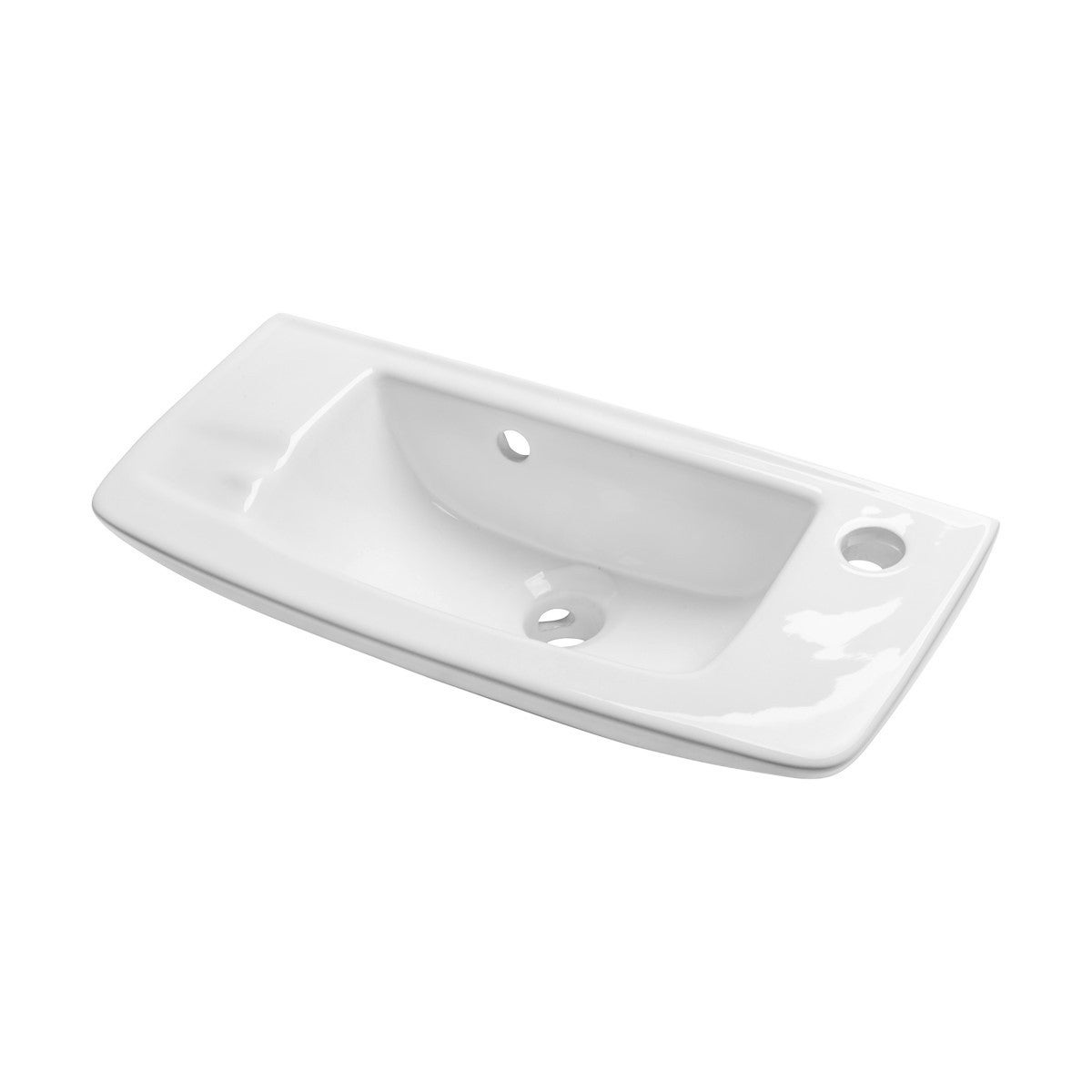 Small White Wall Mount Bathroom Sink