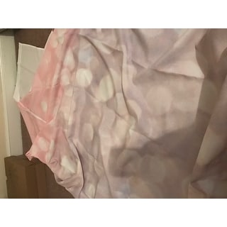Kess InHouse Debbra Obertanec 'Magical' Pink Glitter' Shower Curtain (69x70)