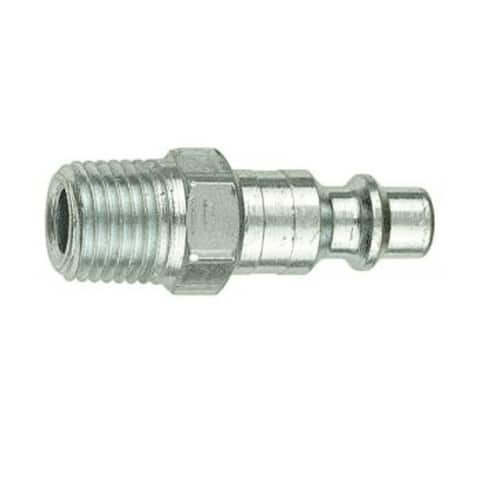 "Forney 75600 Air Fitting Plug, 1/4"" x 1/4"" Male NPT"
