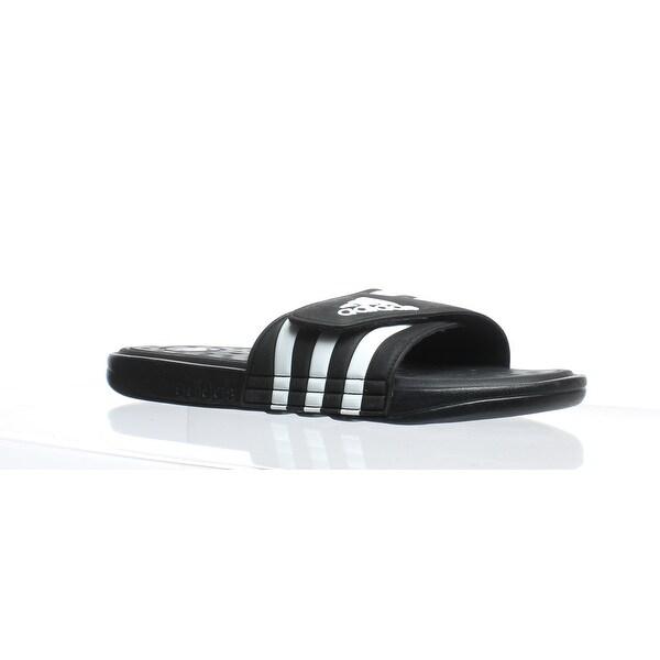 da3d1aaec3f1 Shop Adidas Mens Adissage Black Slides Size 11 - Free Shipping On ...