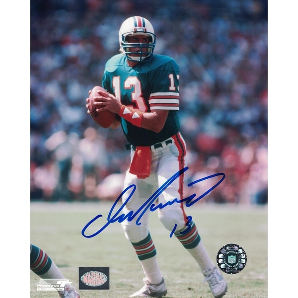 8a4da7c42 Dan Marino Signed 8x10 Photograph NFL Authenticated Marino Hologram - Teal