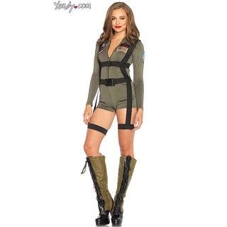 Top Gun Cutie Costume, Hoty Military Costume