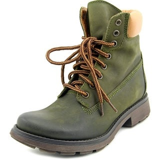 Steve Madden Parley Women Round Toe Leather Work Boot