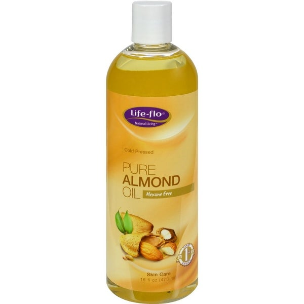 Life-Flo Pure Almond Oil - 16 fl oz - 2 Pack