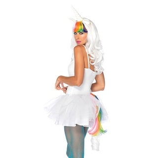 Sexy Rainbow Unicorn Fantasy Costume Accessory Kit